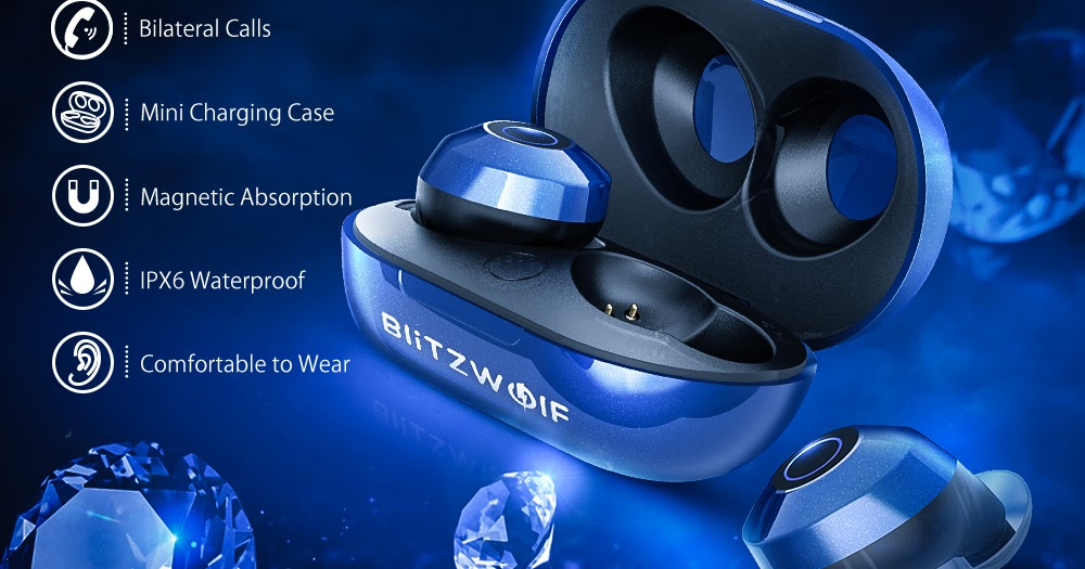 75235c48061 Bluetooth V5.0 Blitzwolf® BW-FYE5 Mini True Wireless Earbuds Stereo  Earphone Portable Charging Box - MIXED SHOPPING