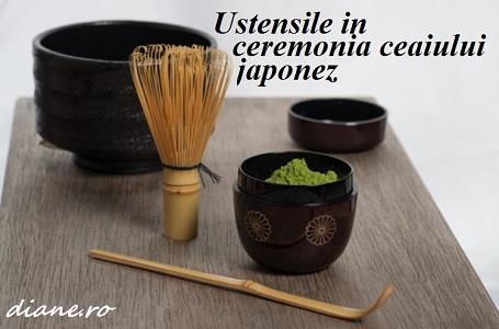 Ustensile ceremonie ceai japonez