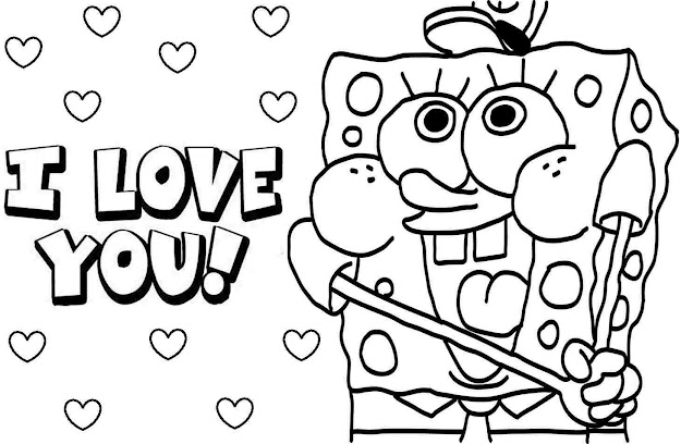 Coloring Pages Baby Spongebob Coloring Free Printable Coloring