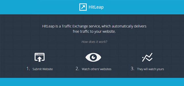 شرح موقع HitLeap لجلب الزوار و الربح منه.