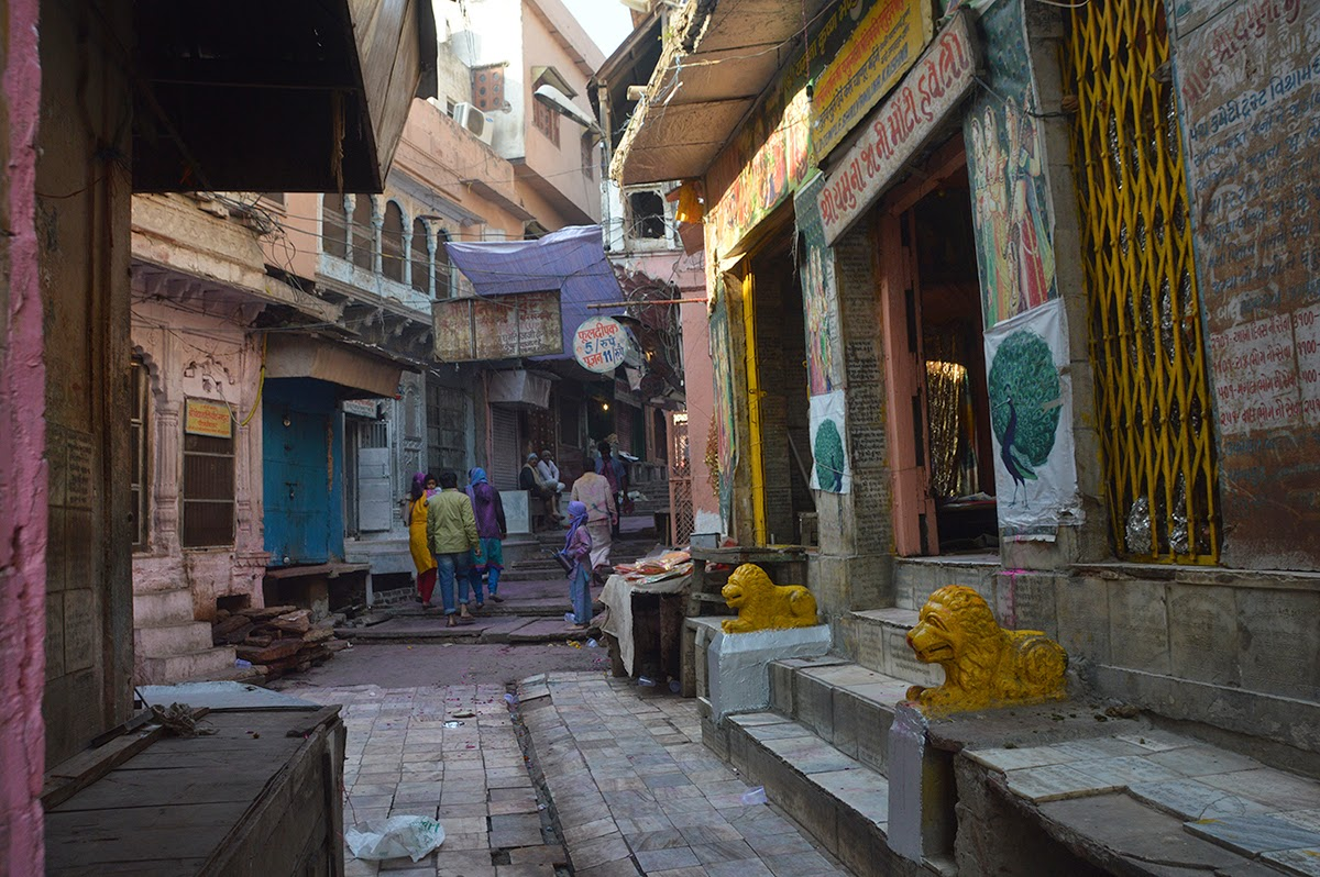 Places to see in Mathura streets walk