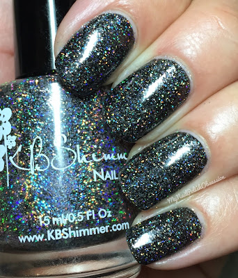 KBShimmer Mega Flame Collection, Spring 2016; Night Bright