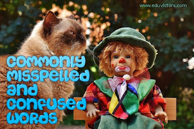 Class 9/10/11/12 - English - Commonly Misspelled and Confused Words (#CBSENotes)