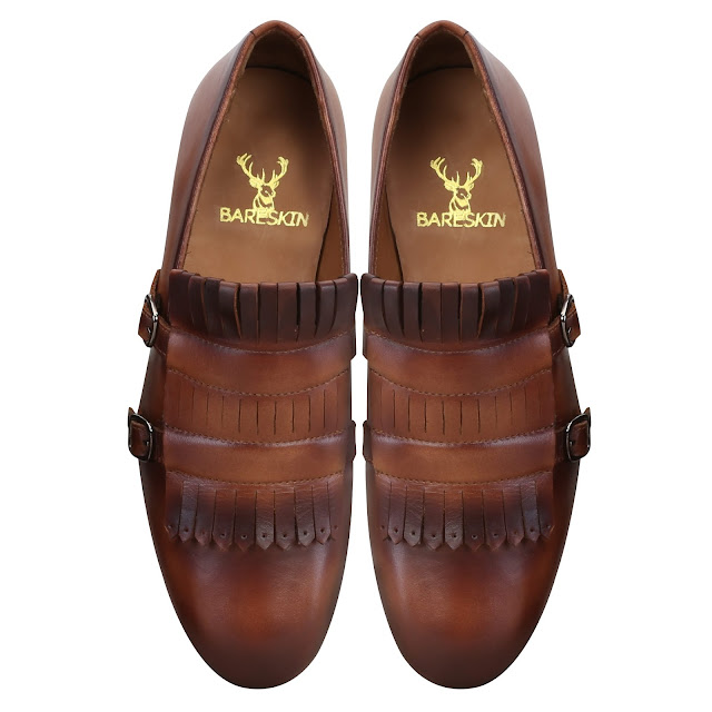 Voganow - Step into festivities with BARESKIN shoes for men