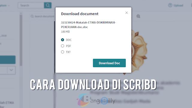 Di pdf scribd file cara