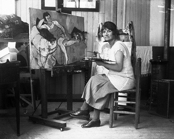 Jeanne Modigliani: Maison Roos: Maurice Utrillo