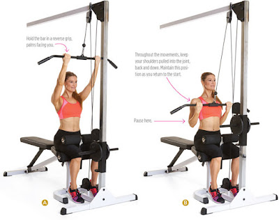 women's health - REVERSE GRIP PULLDOWN