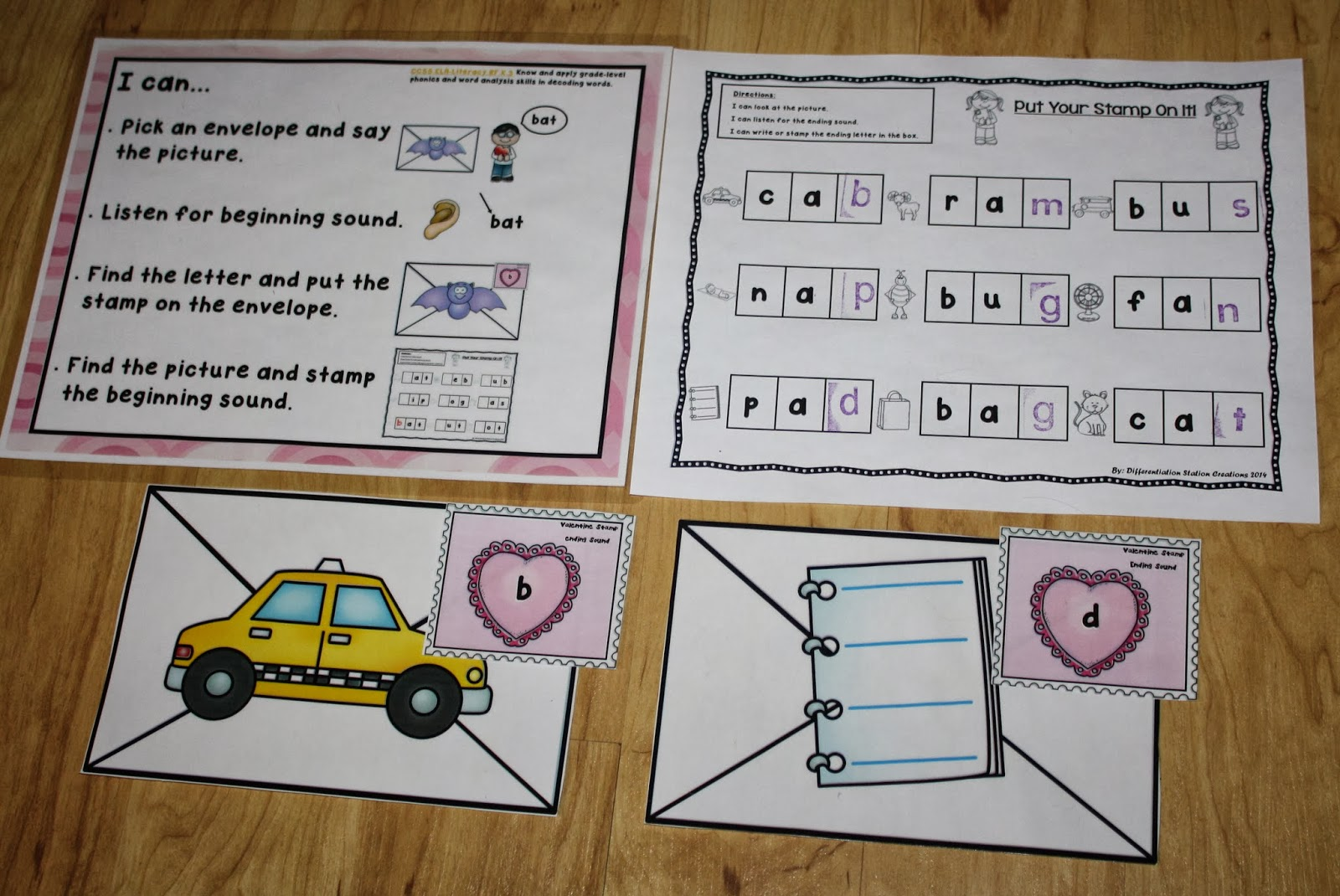 Differentiation Station Creations Put Your Stamp On It