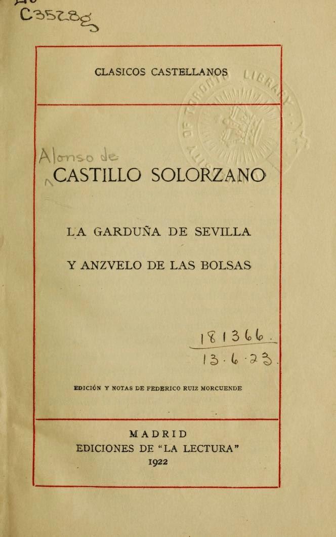 Castillo Solorzano