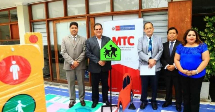Ministerio de Transportes entrega circuitos viales educativos a municipios provinciales