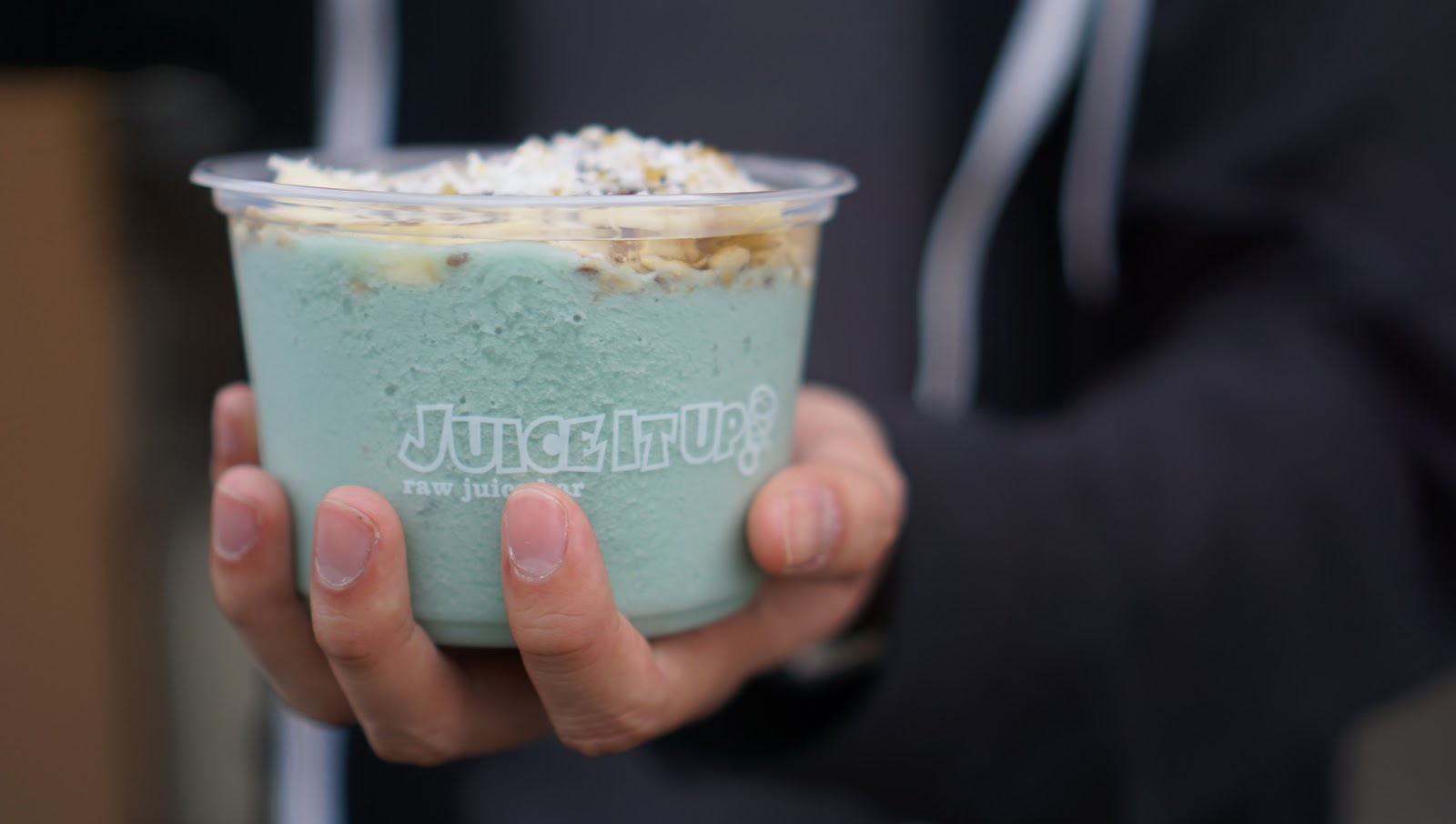 Juice It Up! Now Serves ...Blue Algae!? Try It In Their New Blue Vitality Bowl
