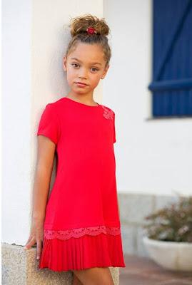 vestido rojo bimbalina, nueva coleccion primavera verano bimbalina