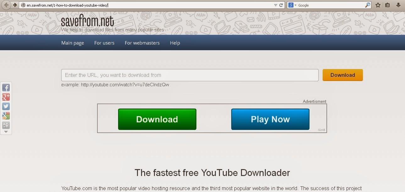 Save Youtube