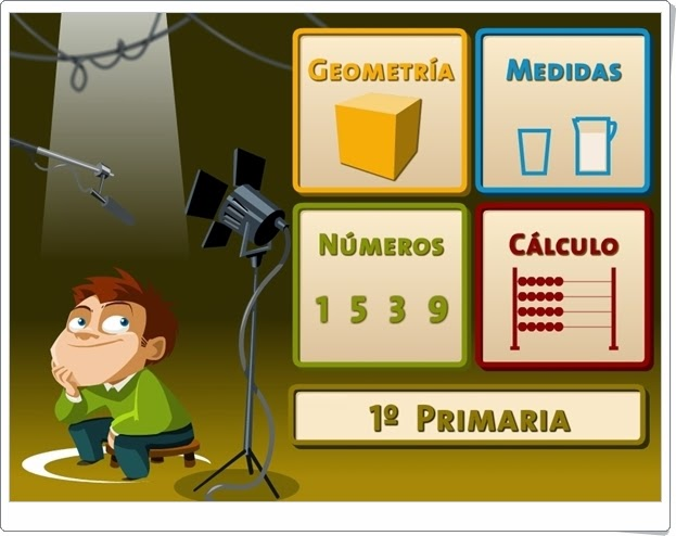 """""""Juegos, Números… ¡Acción!"""". 1º de Primaria."""