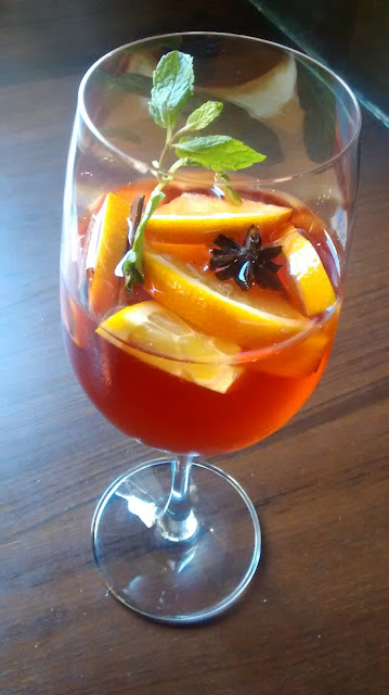 Deli Spiced Rose Sangria