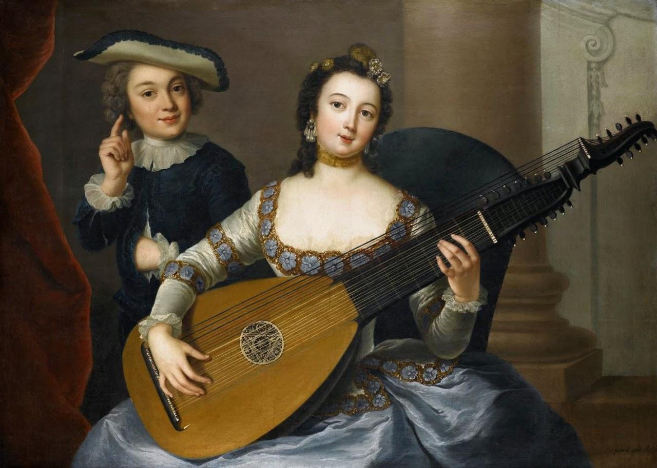 Allegory of Hearing, Anna Rosina de Gasc