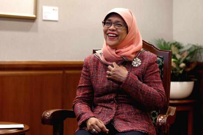 Speaker of Parliament Halimah Yacob on her empathy (the ability to understand and share the feelings of another) for the jobless