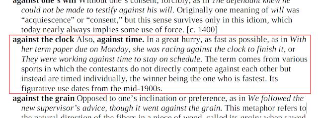Arti Against the Clock