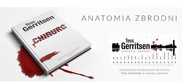"""""""Anatomia zbrodni"""", czyli kolekcja książek Tess Gerritsen już niebawem w kioskach!"""