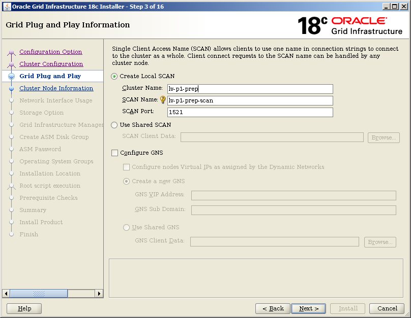 Andrejs life with ORACLE, knowledge base: How to install
