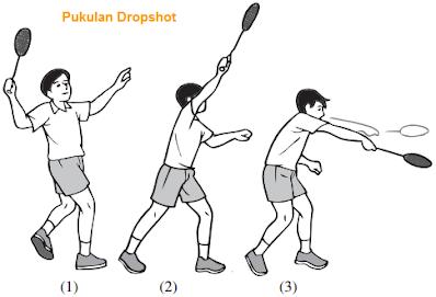 Teknik Dasar Pukulan Dropshot