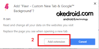 Add extension google chrome