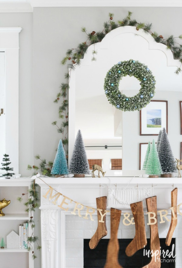 Holiday Mantel from Inspired by Charm
