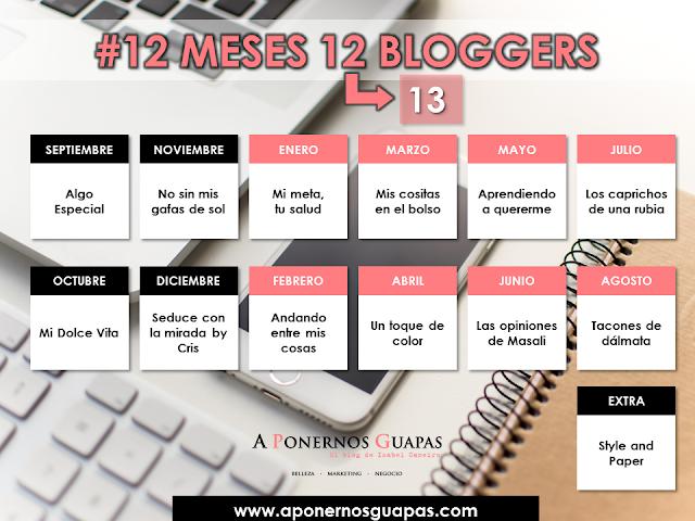 12meses12bloggers a ponernos guapas