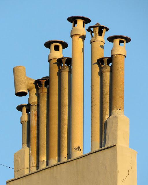 Chimneys, Piazza Benamozegh, Livorno