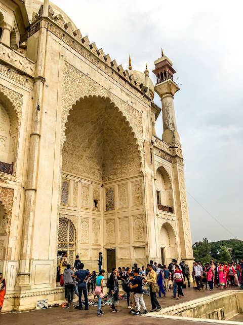 Bibi Ka Maqbara, Aurangabad view of the front arch