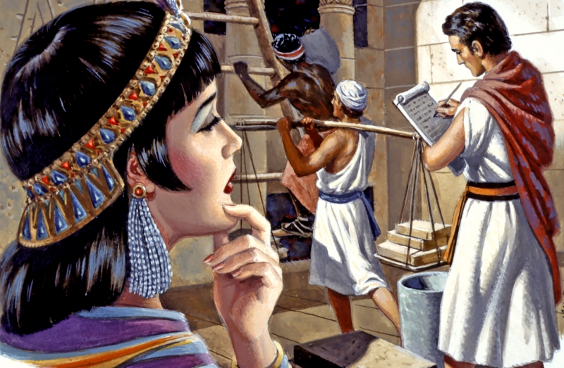 Potiphar put Joseph in charge of his entire household. But Potiphar's wife lusted after this handsome young man