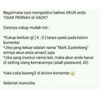 """Kode """"@[4:0]"""" di facebook Bisa Tangkal Hacker adalah HOAX"""