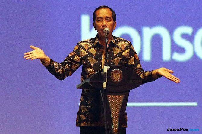 Di acara pesta Demokrasi, Joko Widodo ungkap politikus yang tidak bertika dan Politik genderuwo