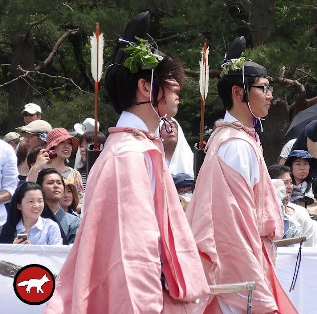 deux archers à aoi matsuri