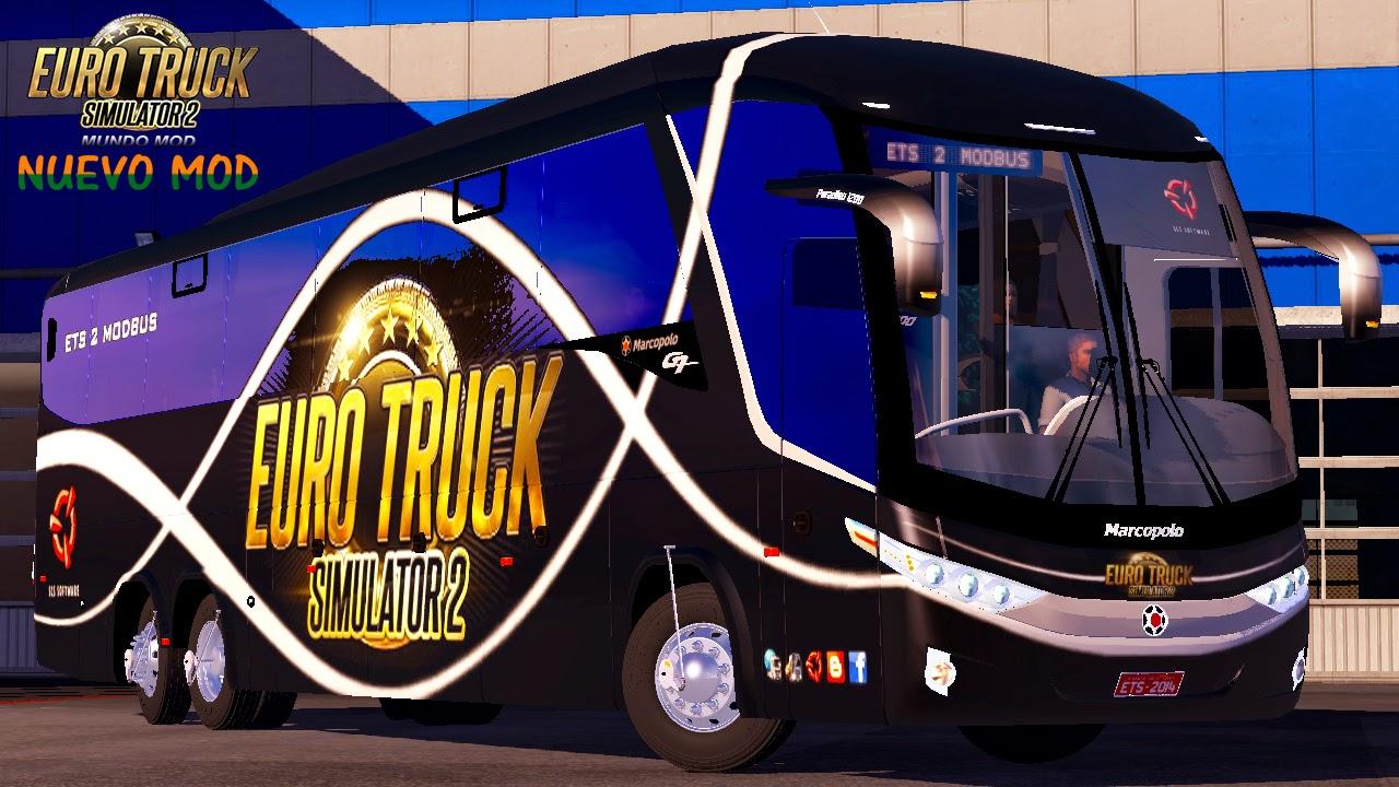 Bus Mod Mercedes Benz Marcopolo Paradiso 1200 G7 6x2 - ETS 2