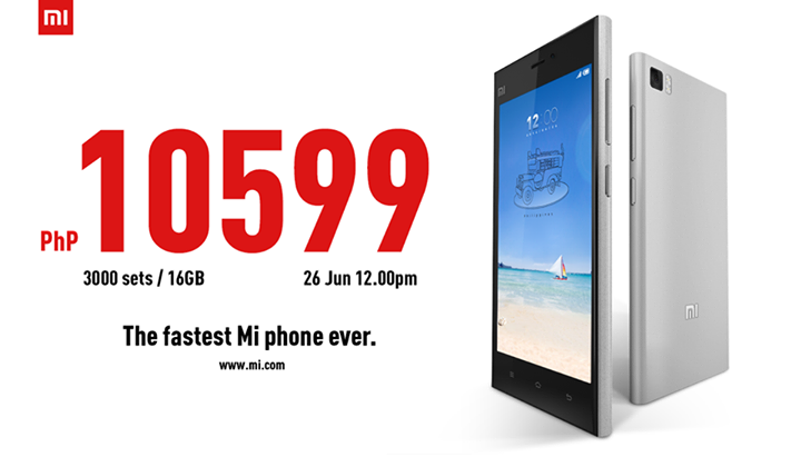 Xiaomi to launch Mi 3 in the Philippines: Price and
