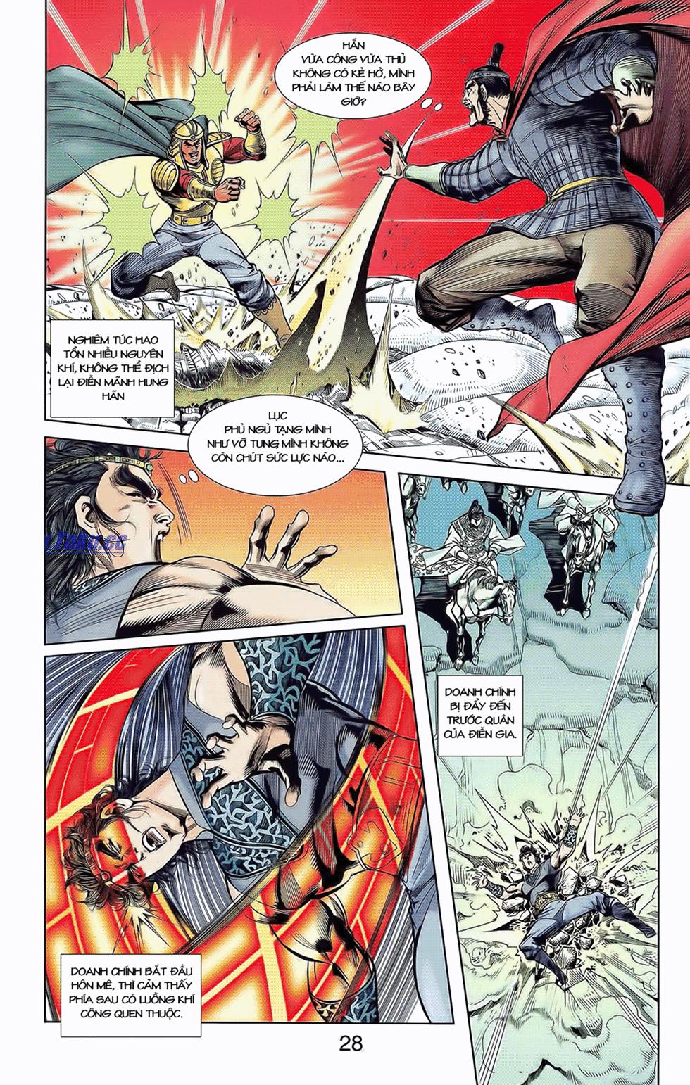 Tần Vương Doanh Chính chapter 9 trang 29
