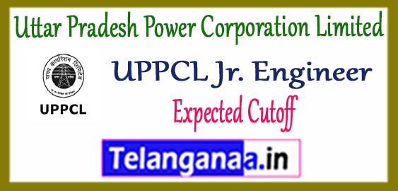 UPPCL JE  Uttar Pradesh Power Corporation Limited Junior Engineer Electrical Cutoff 2017 Admit Card