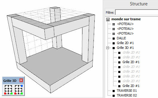 traces regulateurs sketchup