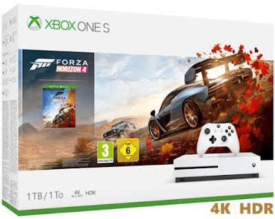 Microsoft Xbox S 1TB + Forza Horizon 4