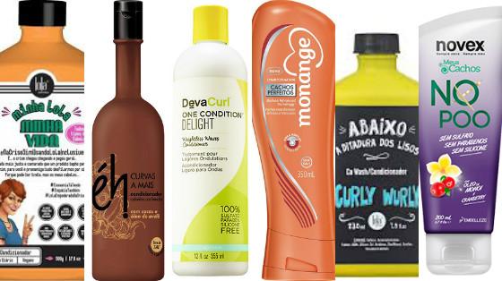 condicionadores cabelos crespos liberados low poo
