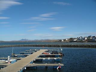 prístav v Bowmore, ostrov Islay