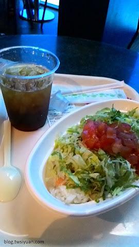 Ocean Blue Cafe 的午餐