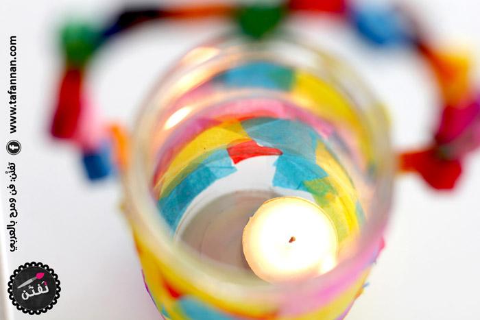 الفانوس الأنيق أهلاً رمضان Chic elegant colorful Ramadan lantern