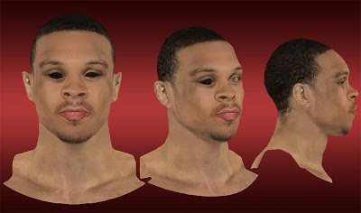 NBA 2K13 Shannon Brown Cyberface Mod