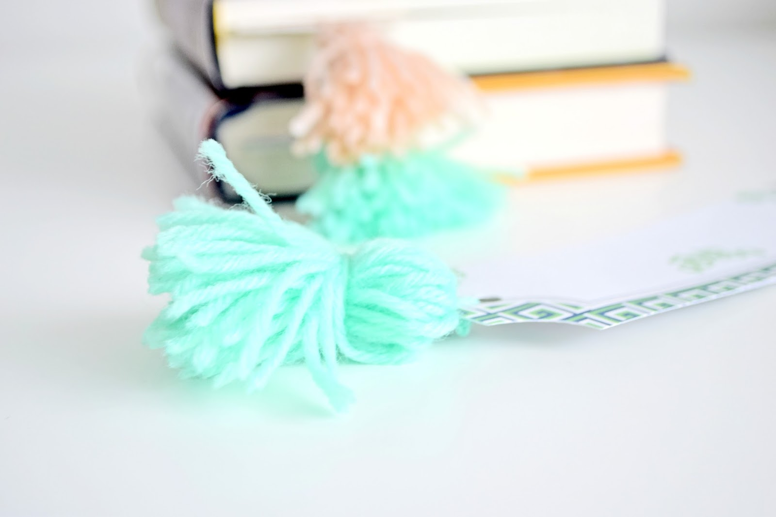 DIY - Tassel Bookmarks | Cleo-inspire