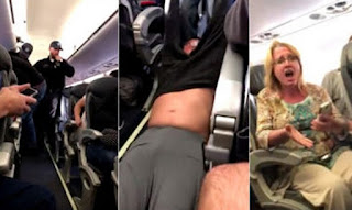 Polizia rimuove con la forza passeggero United Airlines