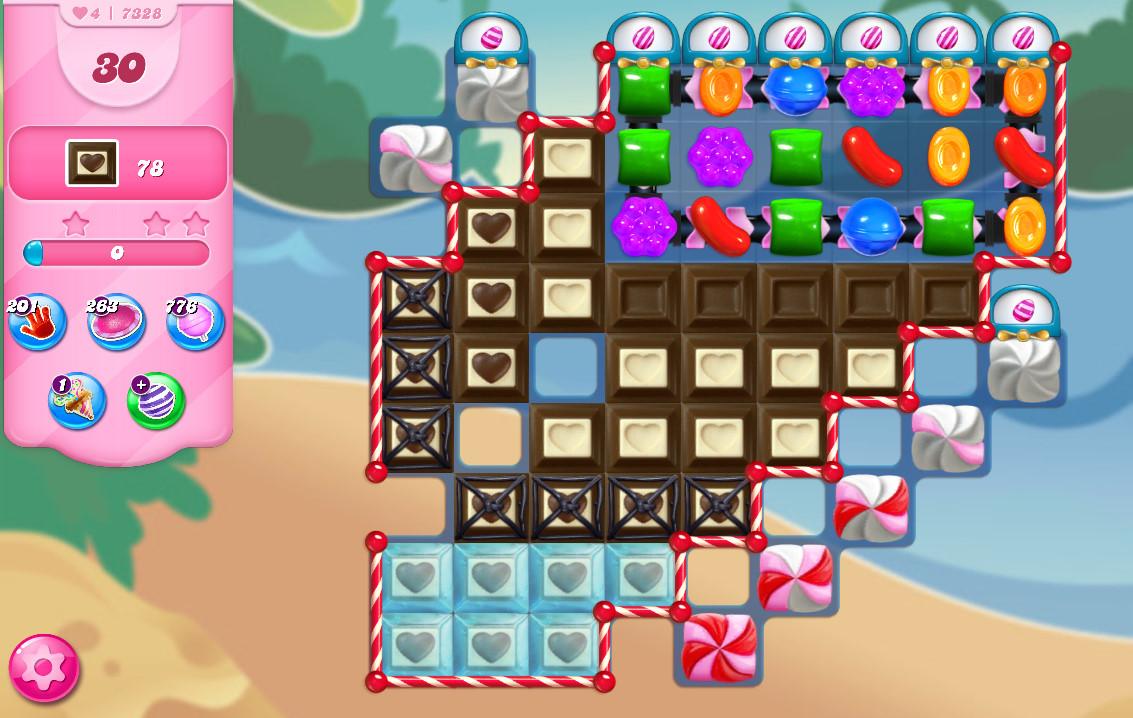 Candy Crush Saga level 7328