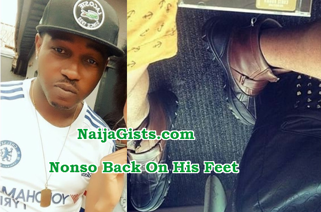 nonso diobi recovers