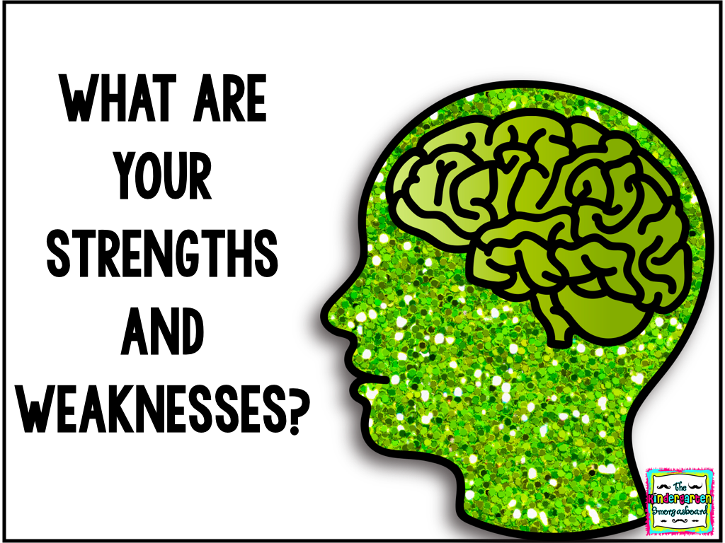 Strengths And Weaknesses Worksheet